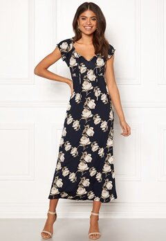 Happy Holly Tessie maxi dress Dark blue Bubbleroom.dk