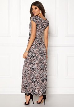 Happy Holly Tessie maxi dress Pink / Patterned Bubbleroom.dk