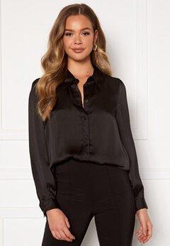 Happy Holly Trinity shirt blouse Black Bubbleroom.dk