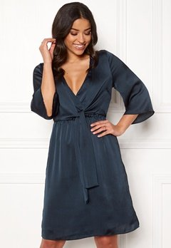 Happy Holly Victoria dress Dark blue Bubbleroom.dk