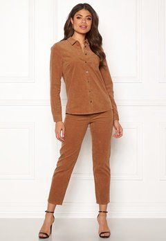Happy Holly Maja cord pants Light brown Bubbleroom.dk