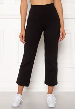 Happy Holly Maisie tricot pants Black Bubbleroom.dk