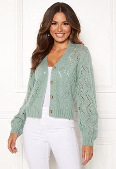 Happy Holly Angelina lace cardigan Mint green Bubbleroom.dk