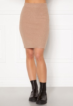 VILA Haudi Knit Skirt Nomad bubbleroom.dk