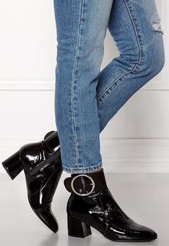 Henry Kole Sophie Patent Shoe Black Bubbleroom.dk