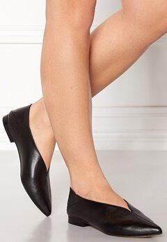 Henry Kole Thalia Leather Shoe Black Bubbleroom.dk