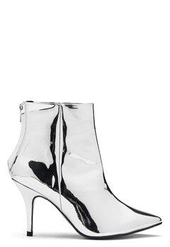 Henry Kole Zoe Leather Boots Silver Bubbleroom.dk