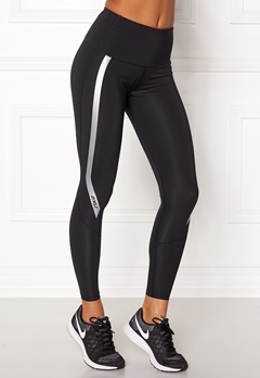 2XU Hi-Rise Compression Tight Black/Silver Bubbleroom.dk