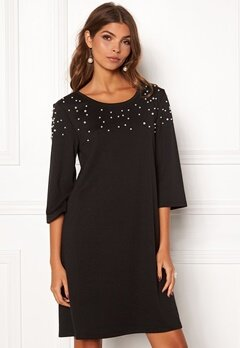 VILA Hilmas S/S Dress Black Bubbleroom.dk