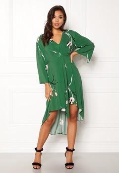 DAGMAR Hirae Dress Green Print Bubbleroom.dk