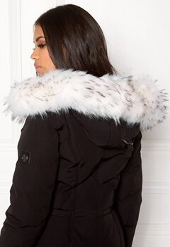 Hollies Collar Fake Fur White Bubbleroom.dk