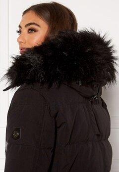 Hollies Collar Subway Fake Fur Black Bubbleroom.dk
