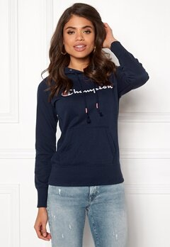 Champion Hooded Sweatshirt Black Iris Bubbleroom.dk