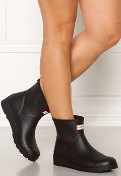 Hunter Original Play Boot Short BLK BLACK Bubbleroom.dk