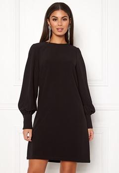 ICHI Belinda Dress Black Bubbleroom.dk