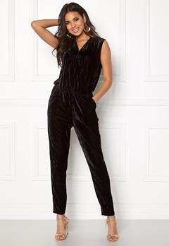 ICHI Cati Jumpsuit Black Bubbleroom.dk