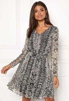 ICHI Inger Dress Feather Gray Bubbleroom.dk