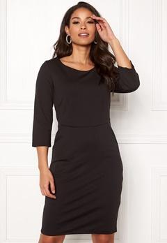 ICHI Kate Slim Dress Black Bubbleroom.dk