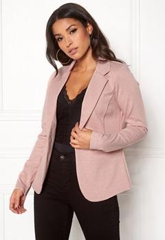 ICHI Kate Suit Jacket Rose Smoke Melange Bubbleroom.dk