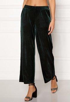 ICHI Velvet Pants Green Gables Bubbleroom.dk