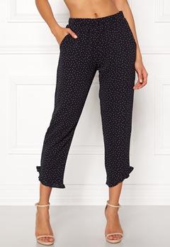 ICHI X Nynne Pants Total Eclipse Bubbleroom.dk