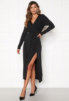 ICHI Xilvia Dress Black Bubbleroom.dk