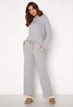 ICHI Yose Trousers Grey Melange Bubbleroom.dk