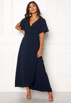 ICHI Zarun Dress 14044 Total Eclipse Bubbleroom.dk