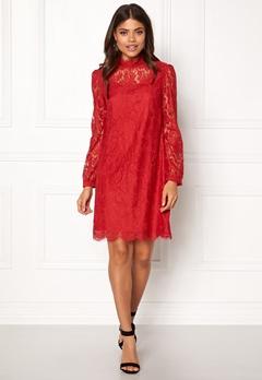 Ida Sjöstedt Hannah Dress Red Bubbleroom.dk