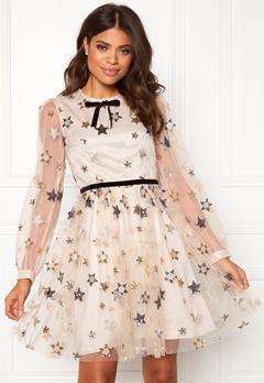 Ida Sjöstedt Macaron Dress Star Tulle Cream Bubbleroom.dk
