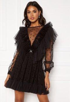 Ida Sjöstedt Paige Dress Black Bubbleroom.dk