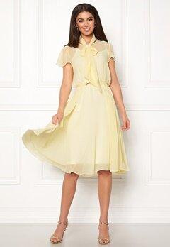 Ida Sjöstedt Polly Dress Light Yellow Bubbleroom.dk