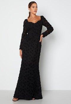 Ida Sjöstedt Selena Dress Black bubbleroom.dk