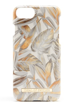 iDeal Of Sweden Fashion Case iPhone Platinum Leaves Bubbleroom.dk