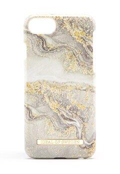 iDeal Of Sweden Fashion Case iPhone Sparkle Greige Marbl Bubbleroom.dk