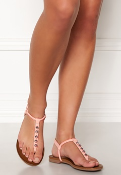 INUOVO 101033 Leather Sandals Blush Bubbleroom.dk