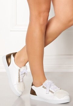 INUOVO Florens Sneakers Napa White Bubbleroom.dk