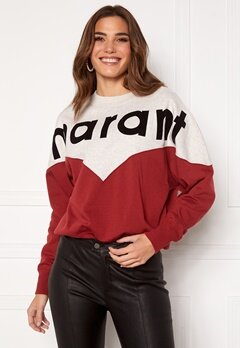 Isabel Marant Houston Sweater 80GR Grenat Bubbleroom.dk