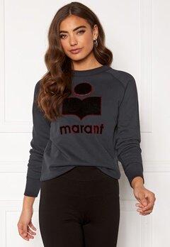 Isabel Marant Milly Sweater Faded Black Bubbleroom.dk