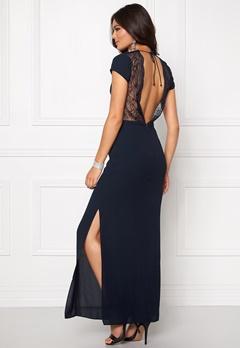 Samsøe & Samsøe Isar Long Dress Dark Sapphire Bubbleroom.dk