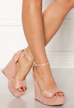Krush Iso High Heel Sandals Blush Bubbleroom.dk