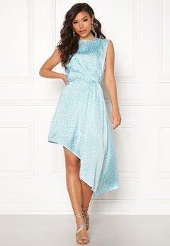 Ivyrevel Asymmetric Dress Light Blue Croco Bubbleroom.dk