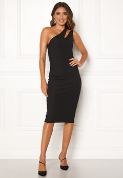 Ivyrevel Cutout One Shoulder Dress Black Bubbleroom.dk