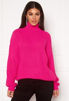 Ivyrevel Oversized Polo Sweater Pink Bubbleroom.dk