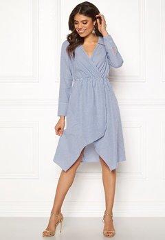 Ivyrevel Shirt Dress Blue Mix Bubbleroom.dk