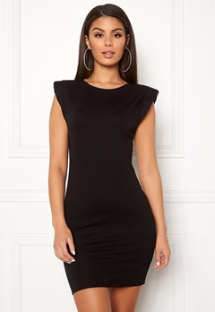 Ivyrevel Shoulder Pad Mini Dress Black Bubbleroom.dk