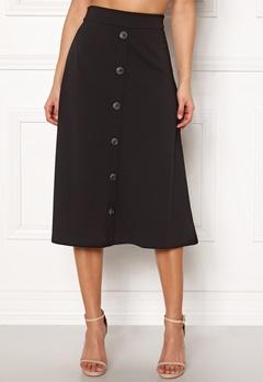 Jacqueline de Yong Bellis Button Skirt Black Bubbleroom.dk