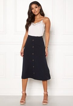 Jacqueline de Yong Bellis Button Skirt Sky Captain Bubbleroom.dk