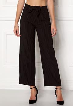 Jacqueline de Yong Chung Wide Pant Black/Stripes Bubbleroom.dk