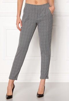 Jacqueline de Yong Delicious Check Pant Cloud Dancer Bubbleroom.dk